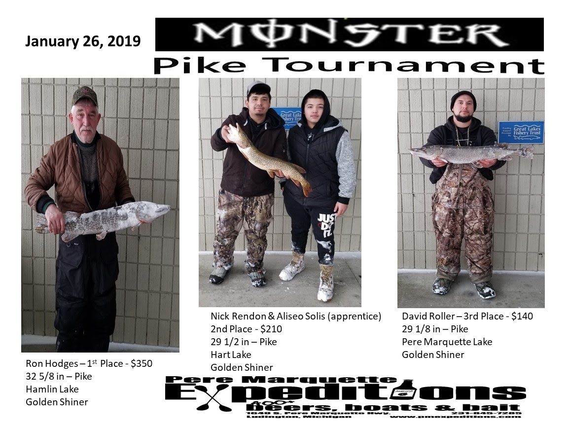 PME Fishing Tournaments - Pere Marquette Expeditions LLC